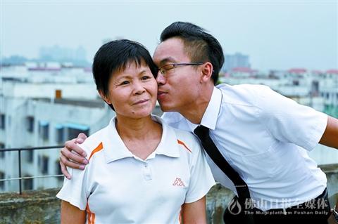 给妈妈一个吻