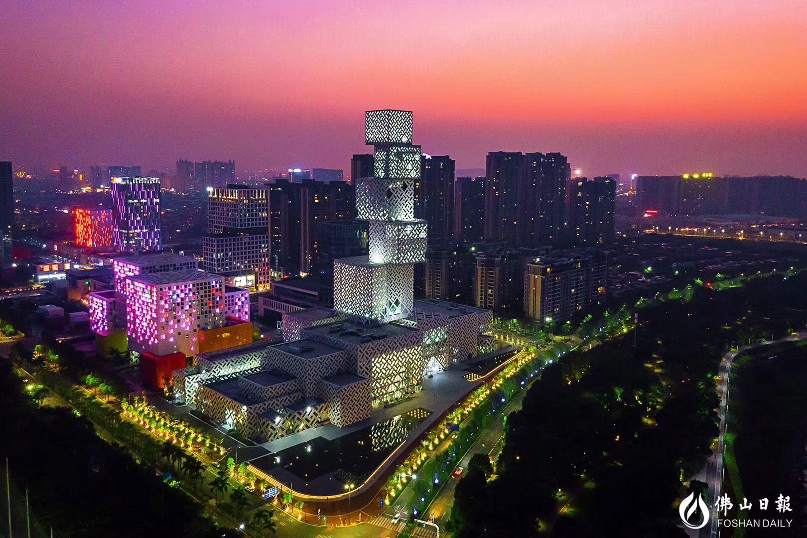 俯瞰美高梅娱乐官网新城 每一栋建筑都散发着独特的魅力