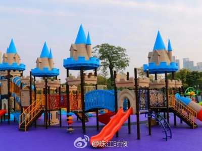 佛山文华公园儿童游乐场明天下午正式开园