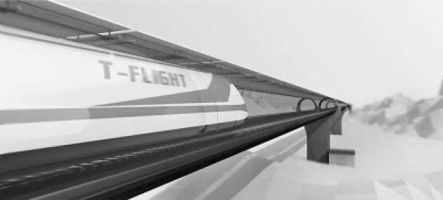 航天科工集团回应质疑:高速飞行列车是缓慢加速