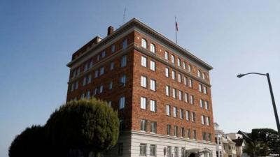 美国务院要求俄罗斯9月2日前关闭驻旧金山总领馆