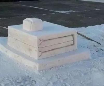 人民军队堆出的雪人,果然不同凡响!