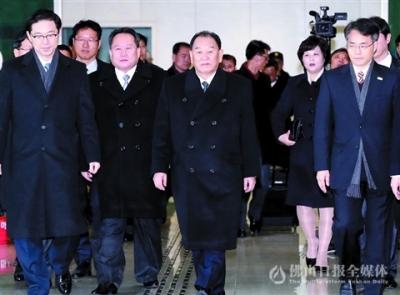 文在寅会见朝鲜代表团 朝方说有意与美国对话