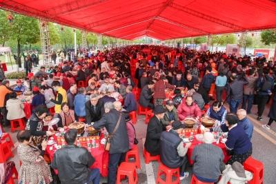 千叟宴、书画即席挥毫...狮山镇罗村第十一届孝德文化节闭幕