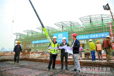 广东潭洲国际会展中心二期已完成约50%工程量