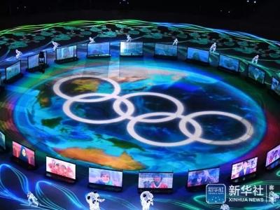 视频来啦!平昌冬奥会闭幕,北京8分钟惊艳了全世界!