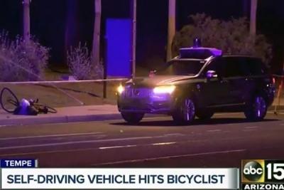 全球首例自动驾驶汽车撞死行人,又是Uber肇事