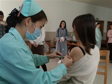 三水四价宫颈癌疫苗供应紧张 就近接种点预约即可