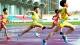 高明这两位小小女运动员在佛山市青少年田径锦标赛上很抢镜