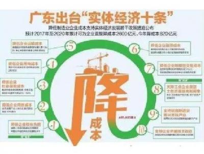 """广东""""实体经济十条""""发布成效?为企业省了56亿"""