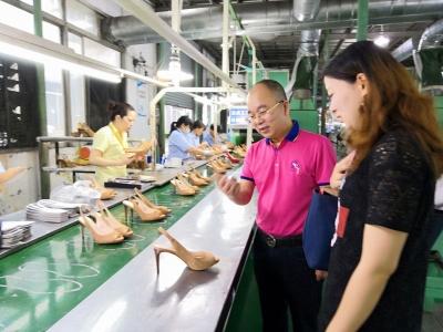 百厚鞋业:工贸一体助力擦亮服务贸易品牌
