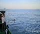 威水!佛山日报记者龙翔成功横渡琼州海峡