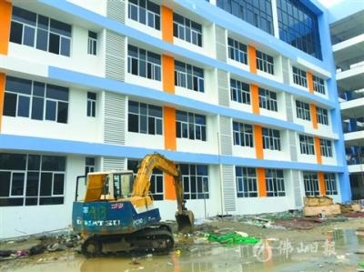 高明两学校新教学楼即将交付使用