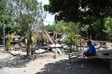 印尼:地震遇难人数升至436人