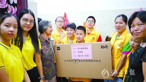 美高梅在线娱乐龙江:101户低收入家庭收到圆梦物资