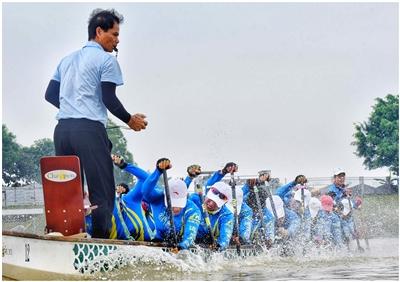 26名美高梅娱乐官网健儿出征亚运 龙舟、皮划艇、羽毛球等有望夺牌
