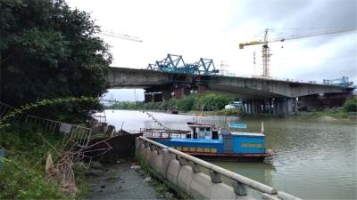 王借岗大桥下月底前合龙 季华北路将无缝对接美高梅娱乐官网西站