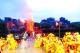 佛山烧番塔登上国际展 央视全球直播西樵镇松塘村烧番塔