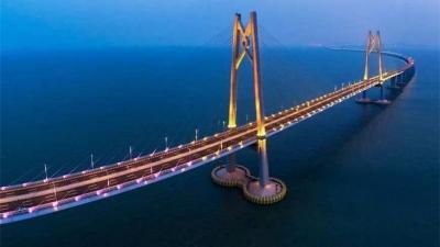 港珠澳大桥开通仪式将于10月23日在珠海举行