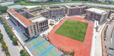 南海桂城今年新建14所学校新增学位超2.1万个