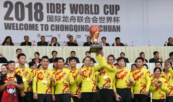 佛山龙助力中国再夺龙舟世界杯总冠军