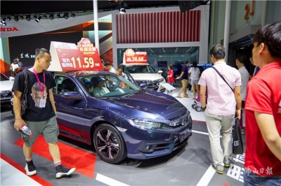 十一潭洲国际车展开馆 全面提升打造车迷盛宴