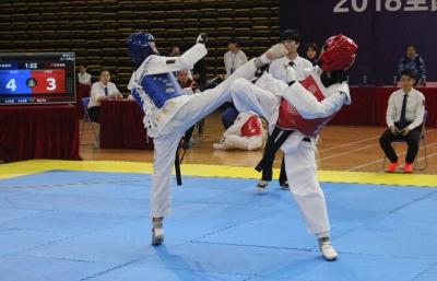 超500名运动员参赛!2018全国体校U系列跆拳道锦标赛佛山开幕