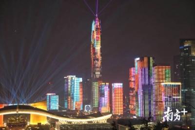 注意!12月10-15日,深圳市民中心灯光秀表演将暂停!