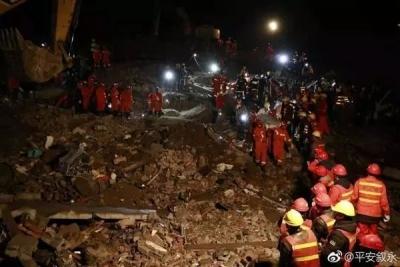 正在营救!四川泸州山体滑坡找到11人 7人生还