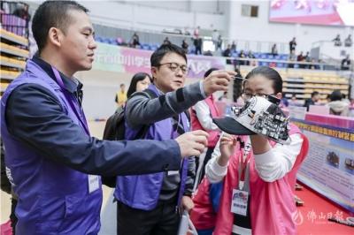 广东中小学生创客大赛 两千多名师生用作品展示奇思妙想