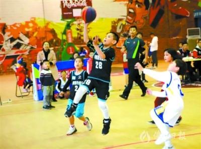 9支胜出球队参加广东省小篮球联赛决赛