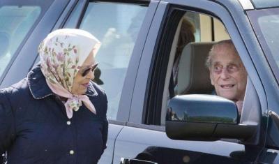 97岁菲利普亲王自驾发生车祸 细节令人倒吸一口凉气