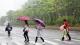今天的第二轮降雨即将开启,正值放学和下班高峰期,请注意防御