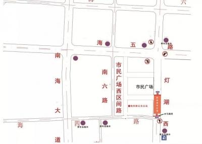 周三起,南海桂城灯湖西路这一段将暂时封闭