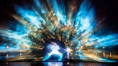 超震撼!千燈湖精彩燈光秀來了!春節期間晚晚上演