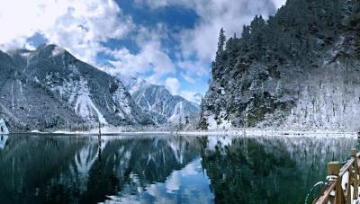 川西毕棚沟景区全园开放!佛山出发6小时抵达冰雪胜景