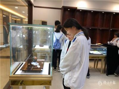 中国珠宝玉石大师文化创意基地大师工作室在伦教启用