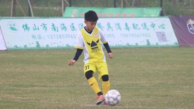 足球小将齐聚九江 佛山市青少年足球俱乐部锦标赛开幕