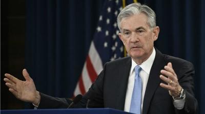 美联储宣布维持联邦基金利率不变:2.25%至2.5%