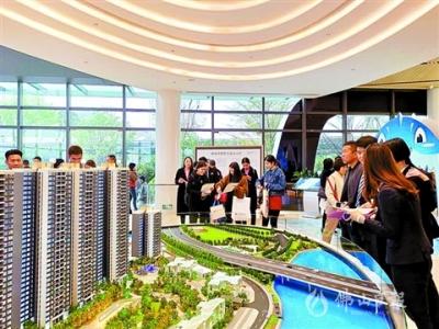 勒流洺悦半岛开放销售中心