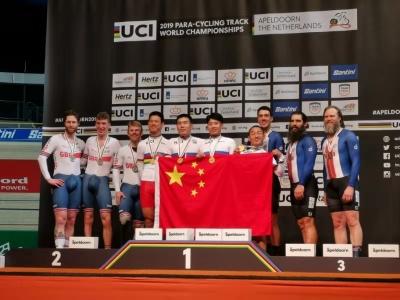 """佛山""""骑士""""赖善章征战世界残疾人自行车场地锦标赛夺冠"""