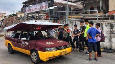 在三水就能考驾照!教练车将完成人脸识别安装!学费会更贵吗?