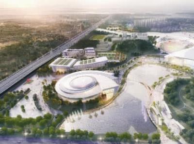 南海区体育中心五大候选设计方案出炉!最快10月动工