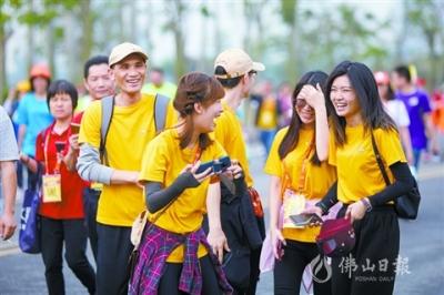50公里徒步高明线吸引3.3万人参加