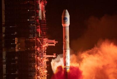 我国成功发射北斗三号系统首颗倾斜地球同步轨道卫星