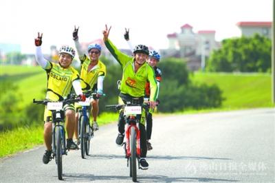 环美高梅娱乐官网绿色骑行 邀骑友试骑尝鲜