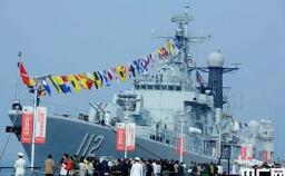 慶祝人民海軍成立70周年  海軍舉辦成就圖片展