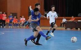 全国第二届青年运动会室内五人制足球赛在美高梅在线娱乐举行