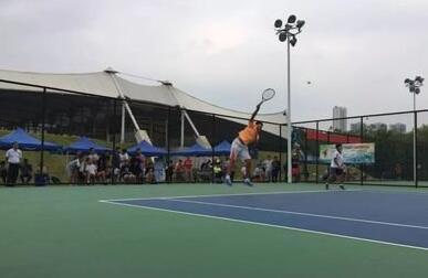 广东青少年网球巡回赛美高梅娱乐官网站收官