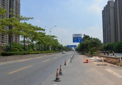 桂丹路沙滘桥施工  周六起实施限货4个月
